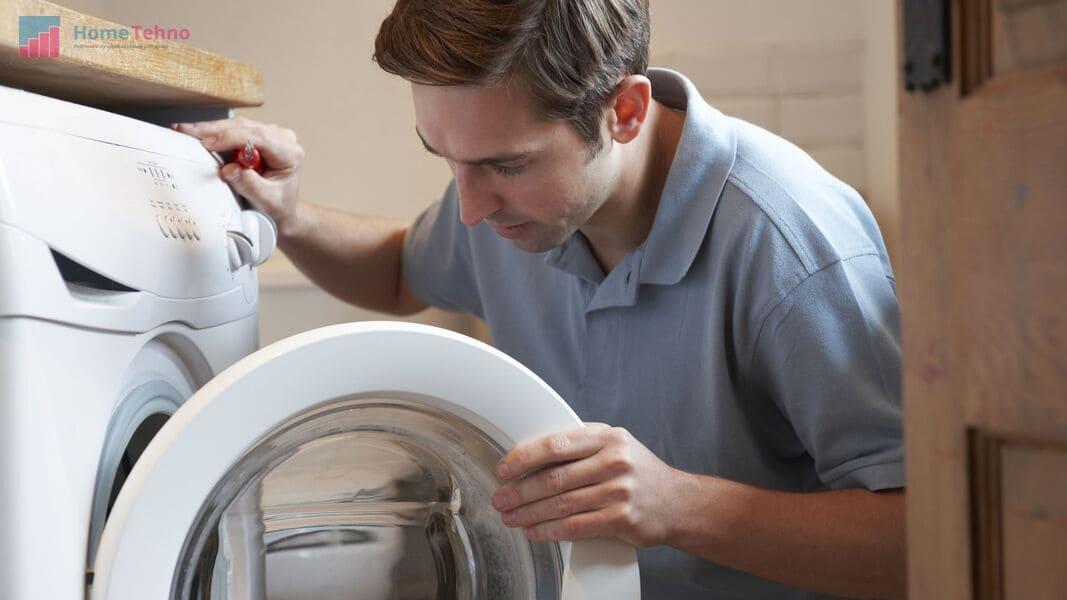 как починить дверцу стиральной машины