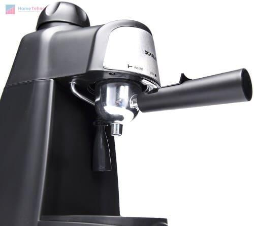 лучшая недорогая рожковая кофеварка Scarlett SC-037