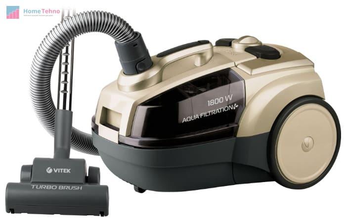 лучший недорогой пылесос с аквафильтром VITEK VT-8100