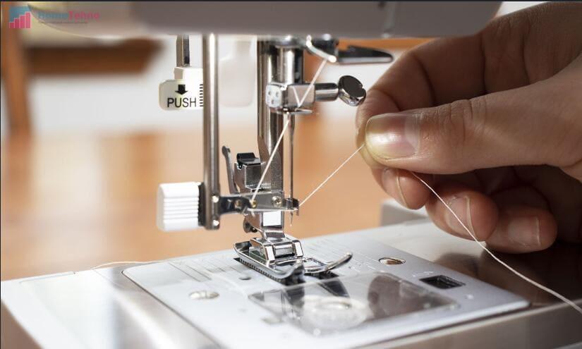 настройка натяжения нити в швейной машине