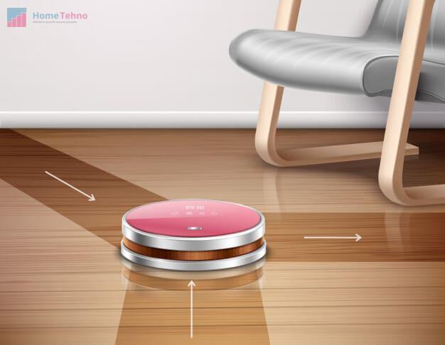 робот пылесос не чувствует пространство
