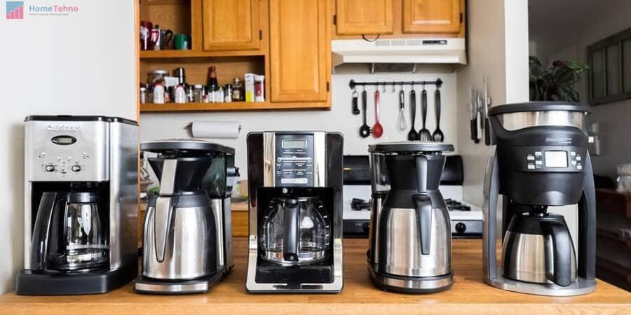 виды и типы кофеварок