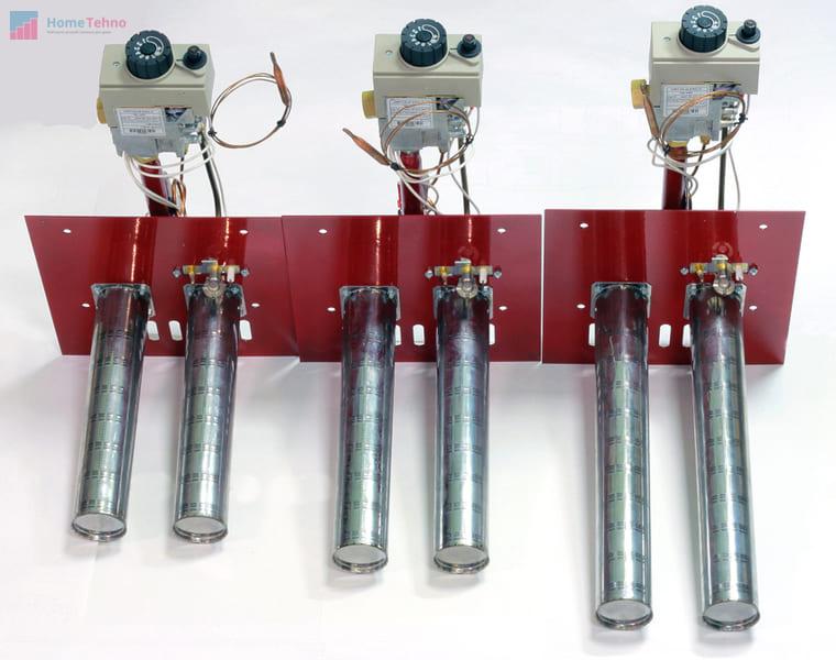 горелка и форсунки газового котла