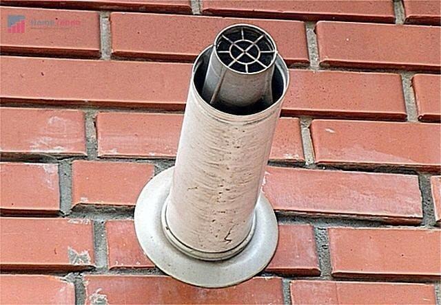 как починить дымоход газового котла