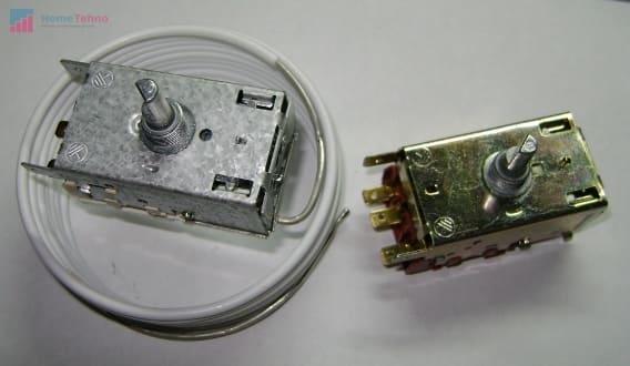как починить термостат в холодильнике атлант