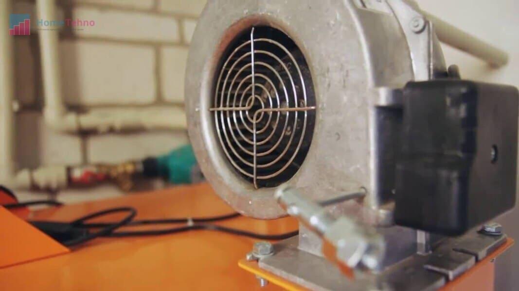 как починить вентилятор газового котла