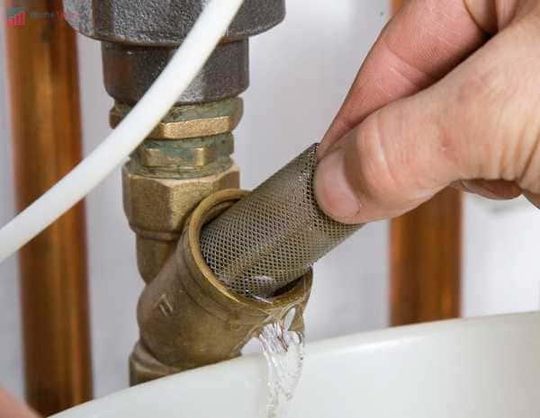 как почистить фильтр газового котла