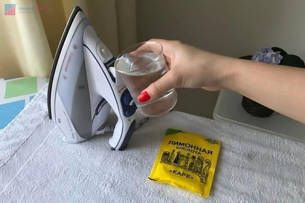 лимонная кислота для чистки парогенератора