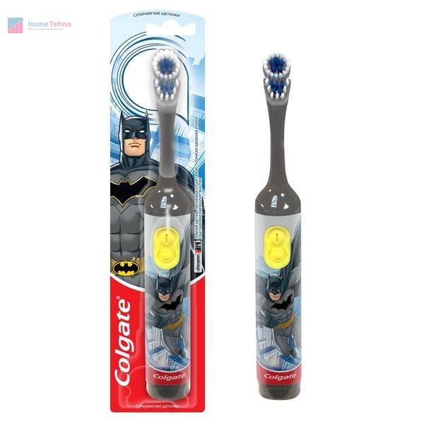 лучшая электрическая зубная щетка Colgate Batman