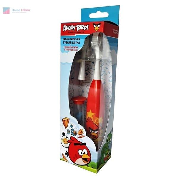 лучшая электрическая зубная щетка Longa Vita Angry Birds SGA-1