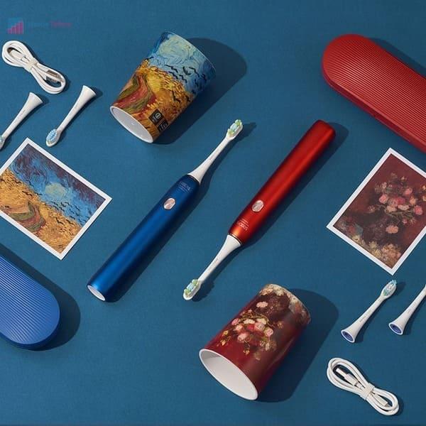 лучшая электрическая зубная щетка Soocas X3U Van Gogh Museum Design