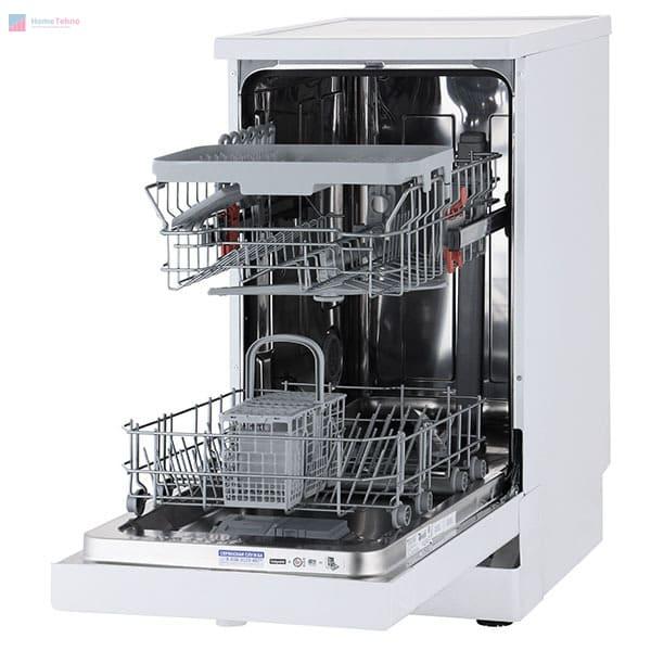 лучшая узкая посудомойка Hotpoint-Ariston HSFE 1B0 C