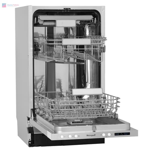 лучшая узкая посудомойка Weissgauff BDW 4533 D