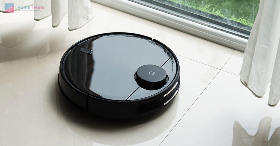 лучший робот пылесос Xiaomi Mi Robot Vacuum-Mop P