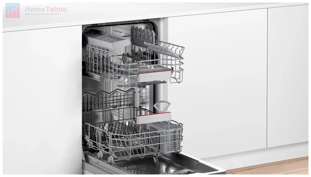 лучшая встраиваемая посудомойка Bosch SPV 4HKX45 E