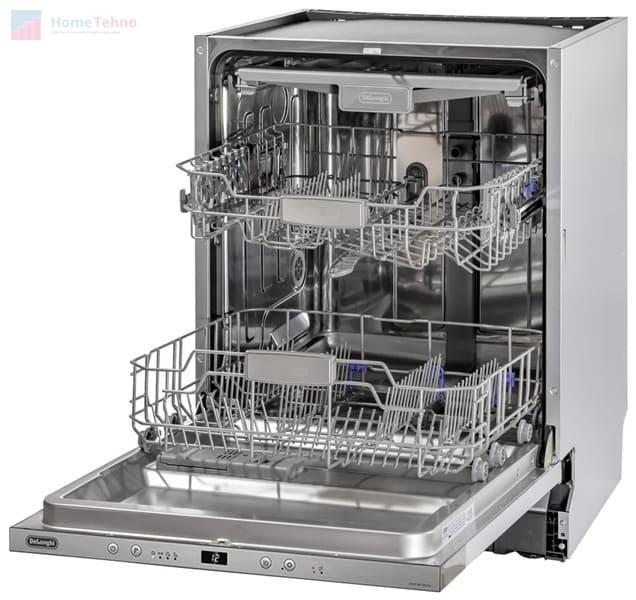 лучшая встраиваемая посудомойка De'Longhi DDW06F Basilia
