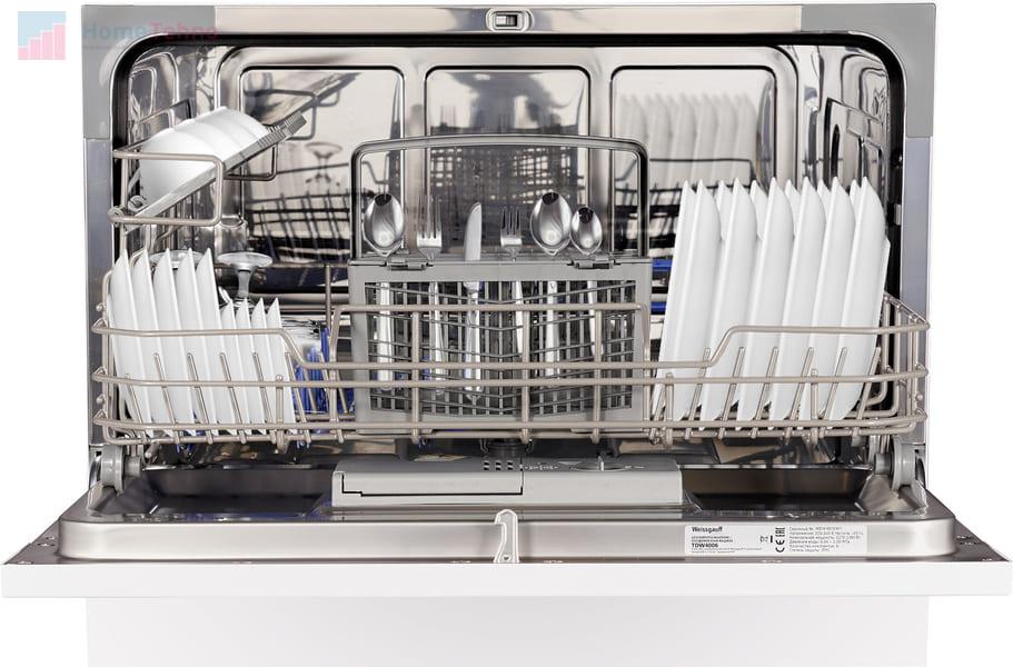 лучшая встраиваемая посудомойка Weissgauff TDW 4006