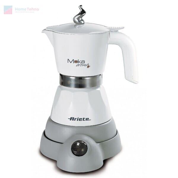лучшая гейзерная кофеварка Ariete Moka Aroma 1358-10