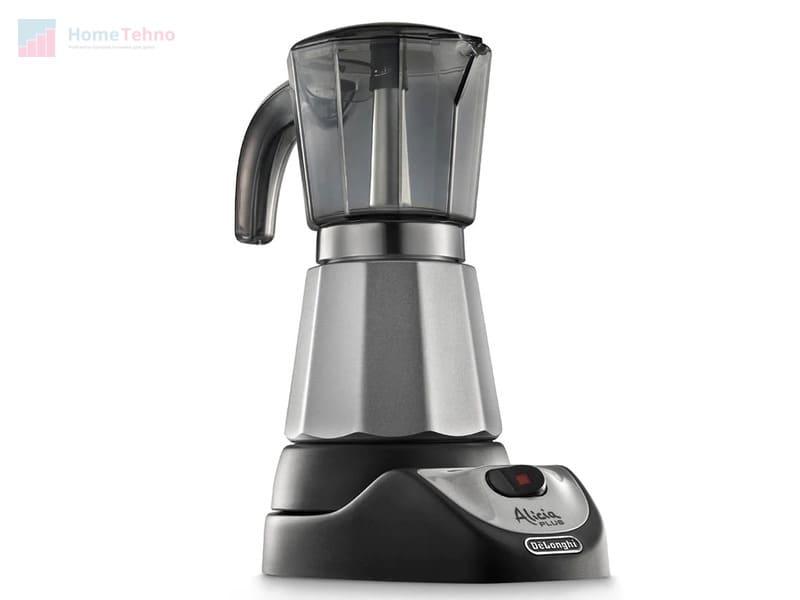 лучшая гейзерная кофеварка De'Longhi Alicia EMKM 6