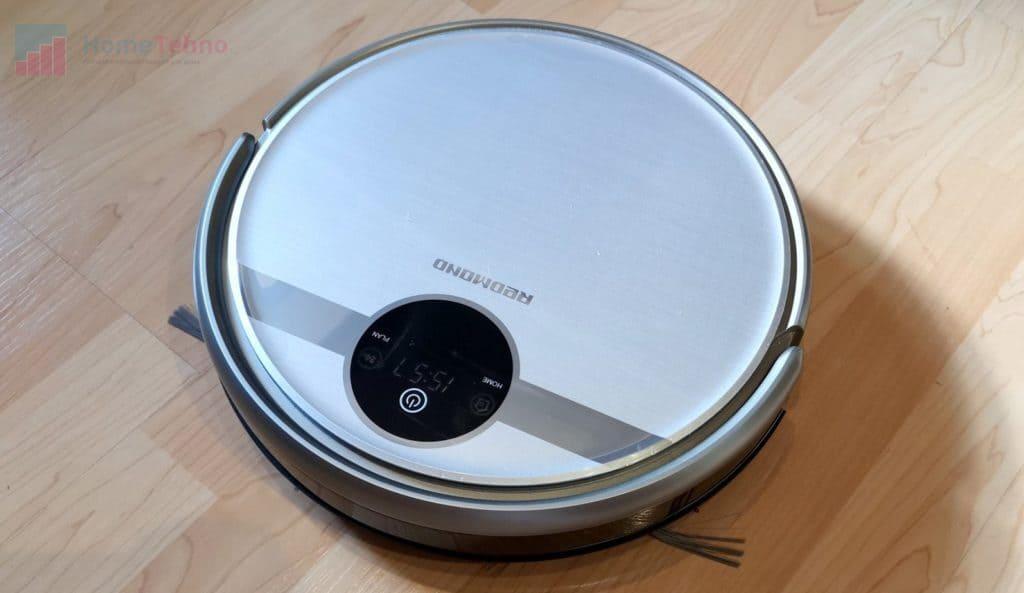 лучший моющий робот-пылесос Redmond RV-R500