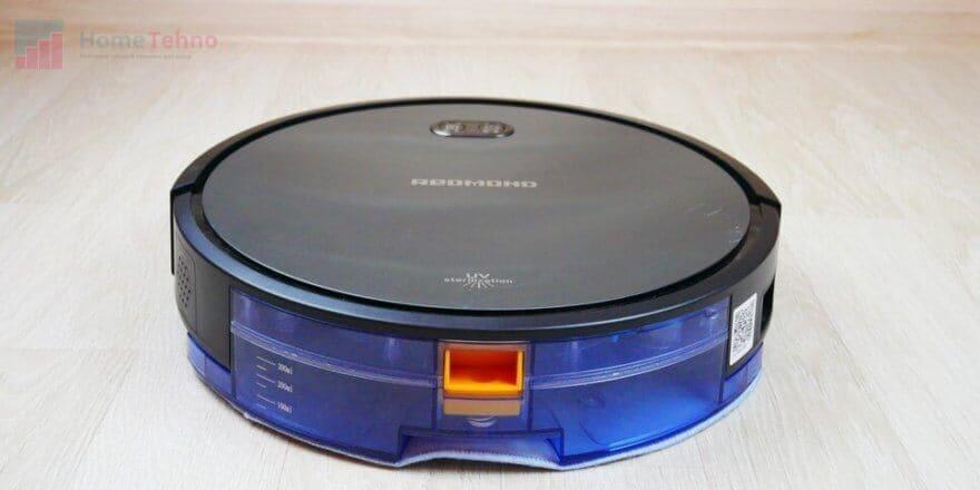 лучший моющий робот-пылесос REDMOND RV-R650S