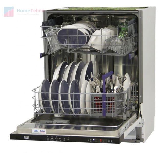 Бюджетная полноразмерная посудомоечная машина Beko DIN 24310