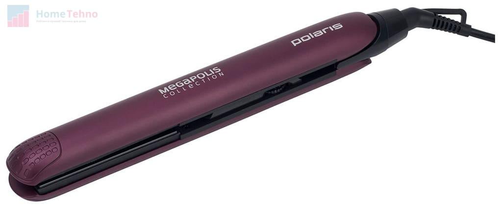 лучший бюджетный выпрямитель для волос Polaris PHS 2590KT
