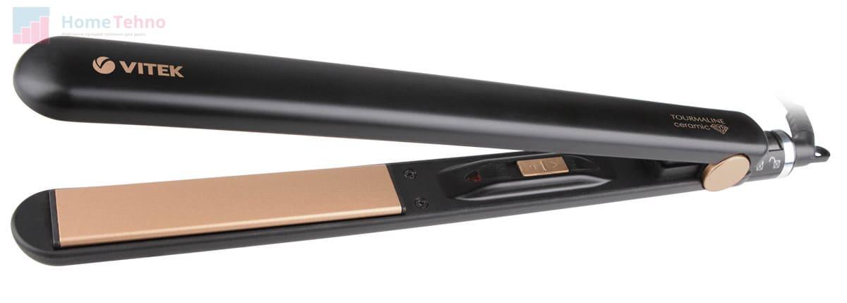 лучший бюджетный выпрямитель для волос VITEK VT-2317
