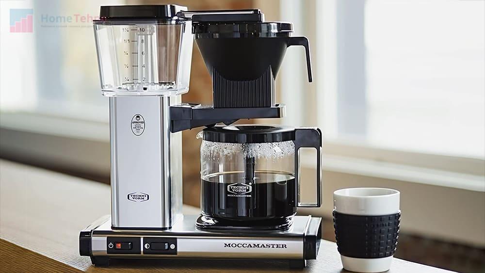 на что обратить внимание при выборе капельной кофеварки